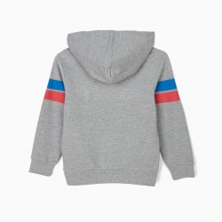 HOODED SWEATSHIRT FOR BOYS 'MICKEY', GRAY