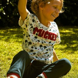 T-SHIRT FOR BOY 'MICKEY', WHITE