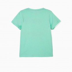 'THERE'S NO PLANET B' KIDS' T-SHIRT, GREEN