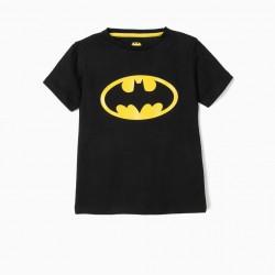 BATMAN T-SHIRT, BLACK