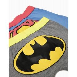 PACK 2 BOXERS BATMAN & SUPERMAN