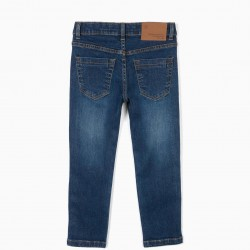 BOYS 'SLIM FIT' JEANS, BLUE