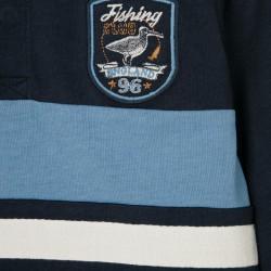 POLO FOR BOYS 'FISHING CLUB', BLUE