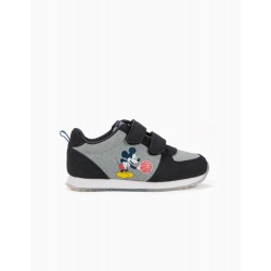 MICKEY BASKETBALL SHOES WITH VELCRO, BLUE