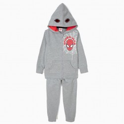 SPIDER-MAN TRACKSUIT FOR BOYS, GRAY