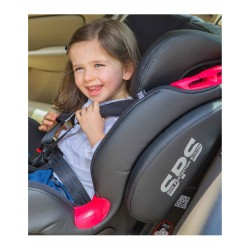 CAR SEAT GR 1/2/3 THUNDER ISOFIX BE COOL METEORITE