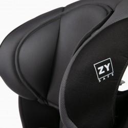 CAR SEAT GR 1/2/3 ISOFIX IZZYGO PLUS ZY SAFE BLACK / GRAY