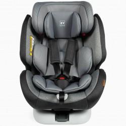 CAR SEAT GR 0/1/2/3 PREMIUM ISOFIX ONE ZY SAFE MELANGE GRAY