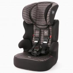 CAR SEAT GR 1/2/3 IZZYGO PLUS ZY SAFE STARS BLACK