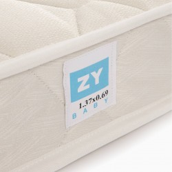 SPRING MATTRESS FOR TIPI BED 140X70 ZY BABY