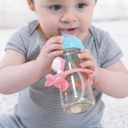 BABY TO LOVE MONKEY SILICONE TEETHER