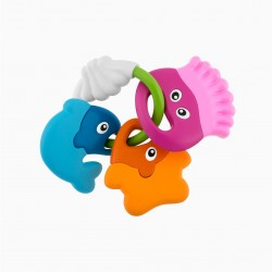 CHICCO LITTLE FISH TEETHING RING