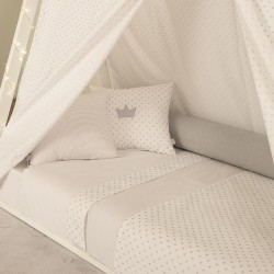 BED SHEETS 140X70CM STARS ZY BABY 3 PIECES