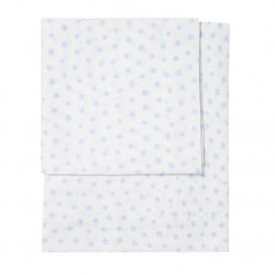 CRIB SHEETS 75X50CM ALLOVER STARS ZY BABY 3 PIECES