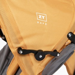 BENGAL ROAD PLUS ZY SAFE YELLOW STROLLER
