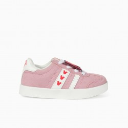 SNEAKERS FOR BABY GIRL 'ZY RETRO MINNIE', LIGHT PINK