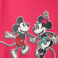 'MICKEY & MINNIE' GIRLS SWEATSHIRT, PINK