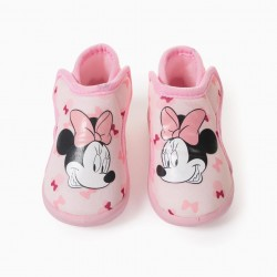 BABY GIRL SLIPPERS 'MINNIE', PINK