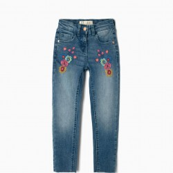 BLUE JEANS FOR GIRLS 'FLOWERS'