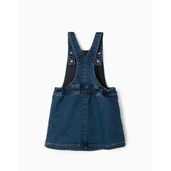 BABY GIRL DENIM SKIRT 'COMFORT DENIM' BLUE