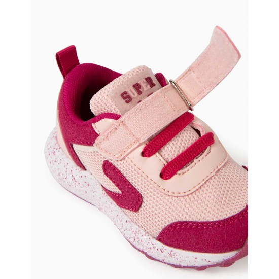 'ZY SUPERLIGHT RUNNER' BABY GIRL SHOES, PINK