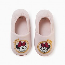 'MINNIE' GIRL SLIPPERS, PINK