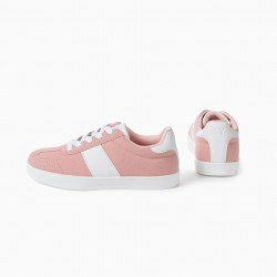 'ZY RETRO' GIRL'S SNEAKERS, PINK
