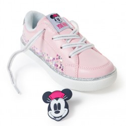 'MINNIE' GIRL'S SNEAKERS, LIGHT PINK