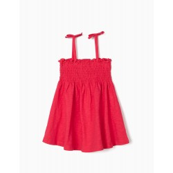 ORGANIC COTTON TOP FOR GIRLS, PINK