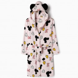 BATHROBE FOR GIRLS 'MINNIE', PINK