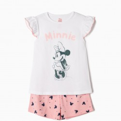 PYJAMAS FOR GIRLS 'MINNIE', WHITE E PINK