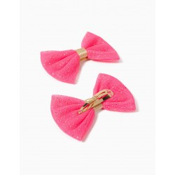2 BOWS FOR GIRLS, PINK