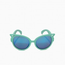 GIRL'S SUNGLASSES, GREEN AND BLUE