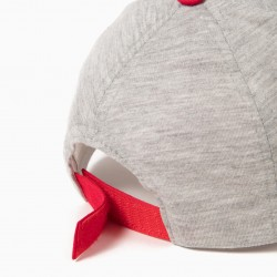 GRAY AND RED TWEETY CAP