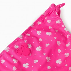 FLORAL BIKINI FOR GIRLS, 'MINNIE MOUSE', PINK