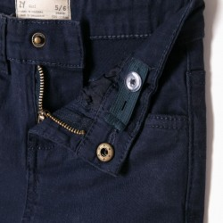 BLUE TWILL TROUSERS