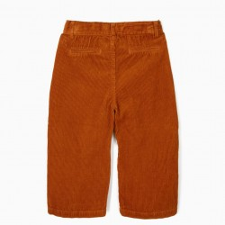 BROWN BOMBAZINE CULLOTES PANTS