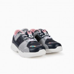 GIRLS 'MINNIE MOUSE' TRAINERS, BLUE