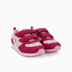 GIRLS 'MINNIE MOUSE' TRAINERS, PINK