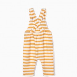NEWBORN BABY BIBS WITH STRIPES AND TEXTURE, YELLOW AND WHITE