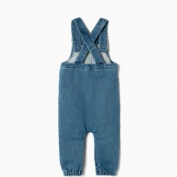 COMFORT DENIM BIBS, BLUE