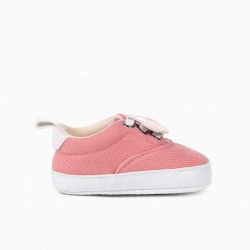 BABY SHOES 'STAR', PINK