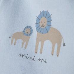 BLUE AND WHITE 'MINI ME' NEWBORN TRACKSUIT