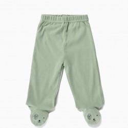 4 BABY ANIMALS' BABY FOOT PANTS, MULTICOLOR