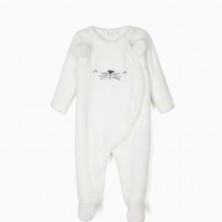 BABYGROW FOR NEWBORN 'LION', WHITE