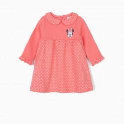 NEWBORN DRESS 'MINNIE', PINK
