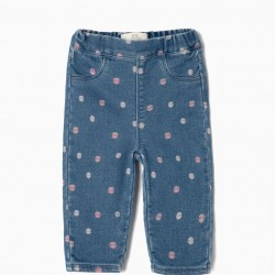 JUMPSUITS FOR NEWBORNS 'COMFORT DENIM' PINTAS, BLUE