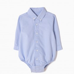 NEWBORN BABY BODYSUIT, BLUE