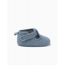 NEWBORN SHOES, BLUE