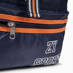 BOY BACKPACK 'ZY SPORT', BLUE